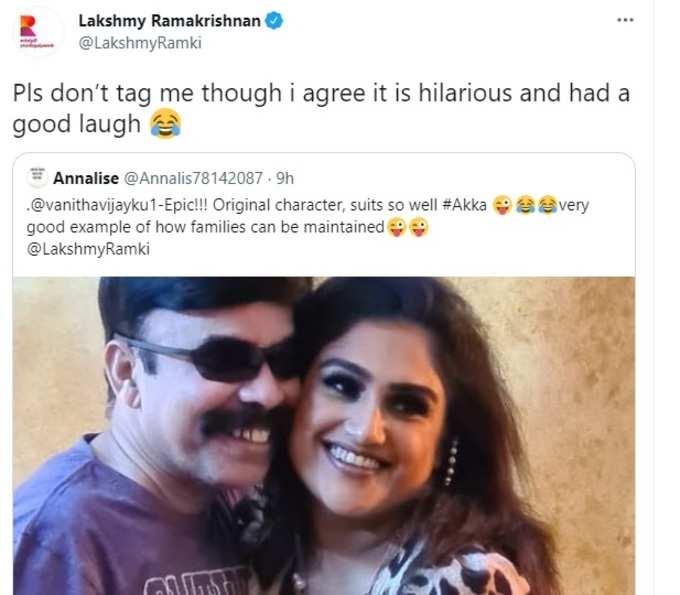 lakshmy ramakrishnan