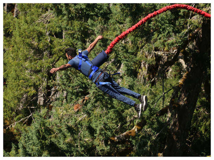 highest bungee jump in the world in hindi