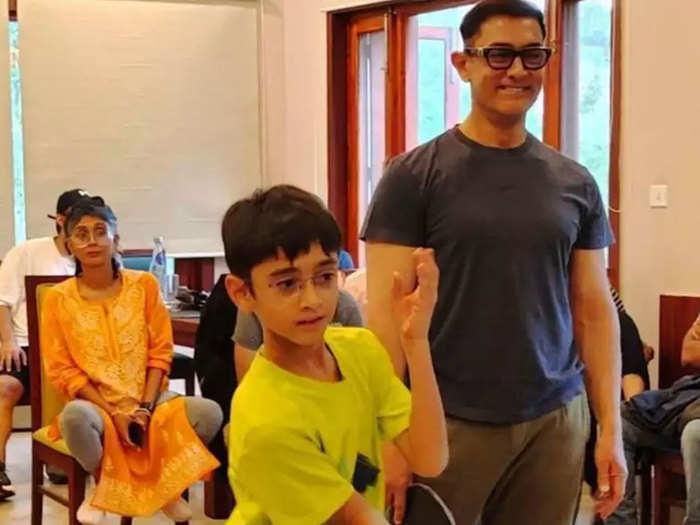 किरण और आजाद के साथ आमिर