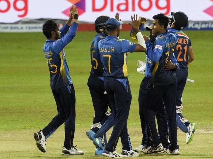 Sri Lankan Team in 3rd ODI vs India
