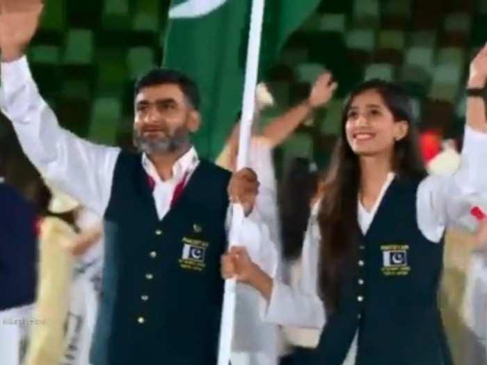 Video : पाकिस्तानसह इतर दोन देशांकडून ऑलिम्पिकच्या उद्घाटन सोहळ्याला गालबोट