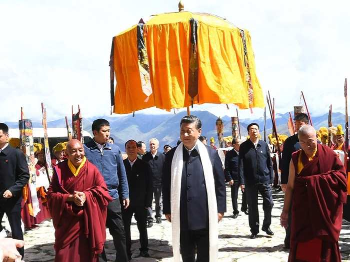 Xi jinping Tibet 01