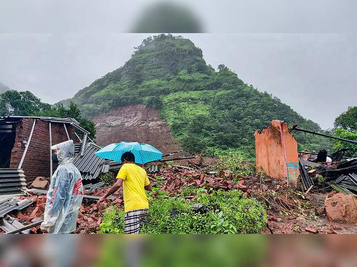 landslide in taliye village mahad raigad