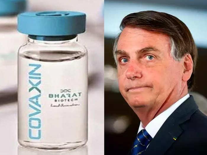 जेयर बोल्सोनारो वैक्सीन पर विवाद में