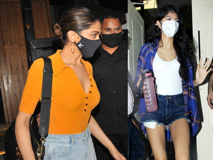 anjini dhawan flaunts her long legs in hot pants looked better than deepika padukone