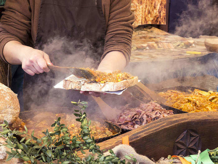 street food in bangalore in hindi