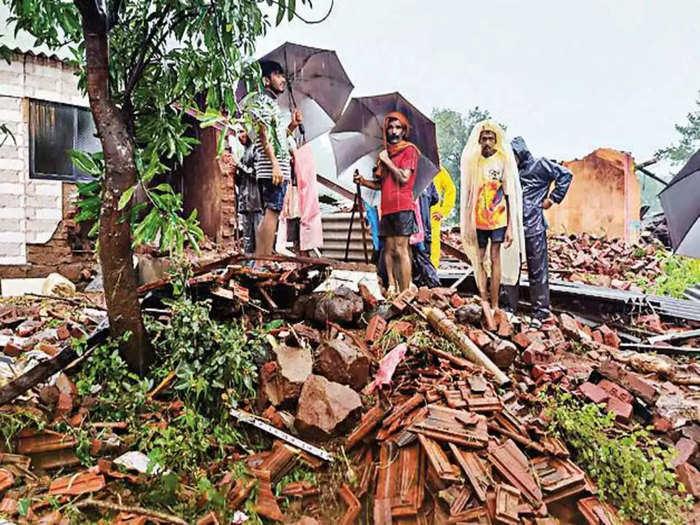 49 death in taliye village of raigad due to landslide after rain maharashtra