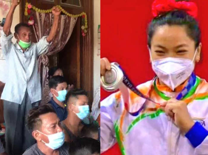 pm modi to rahul gandhi congratulate weightlifter mirabai chanu for winning silver in tokyo olympic