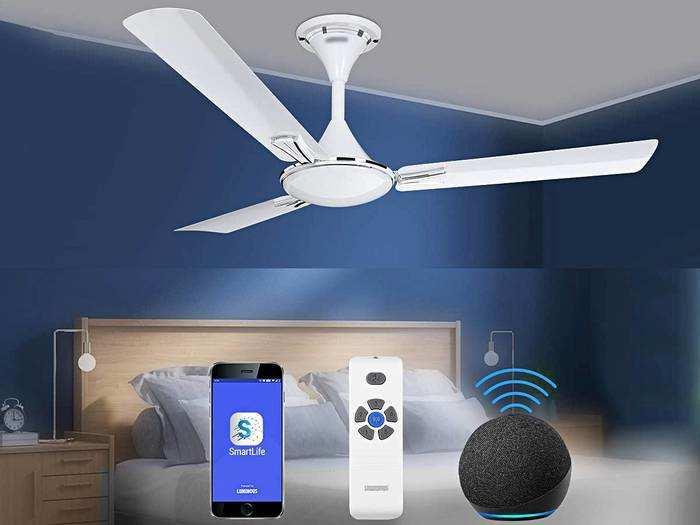 अब बेड पर बैठे-बैठे रिमोट से कंट्रोल करें Ceiling Fan और अपने घर को दें स्मार्ट लुक
