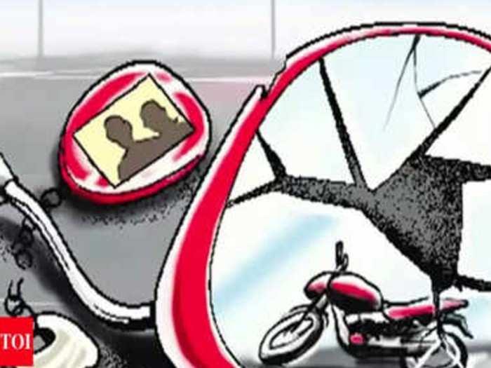 लसीकरणास जाणारी महिला अपघातात ठार