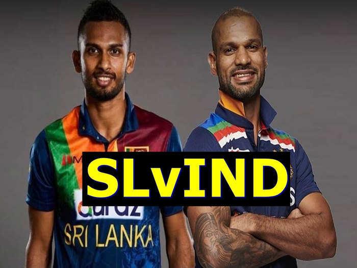 INDIA VS SRI LANKA 1st t20