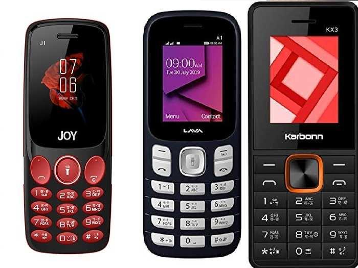 Best Feature Phones Under 1000 Rupees In India