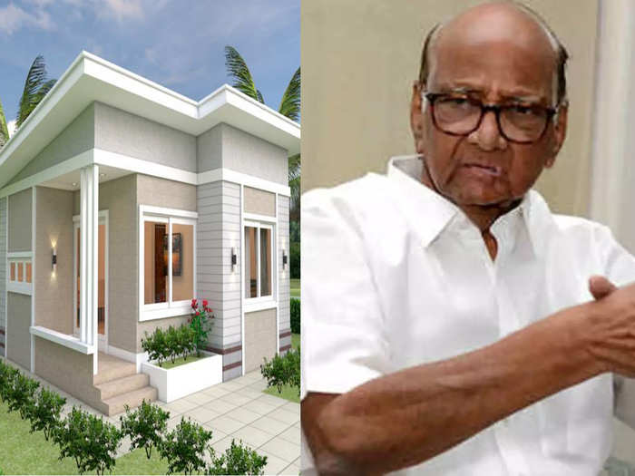 Sharad Pawar suggested that MHADA should build houses for the people of Taliye village in Mahad