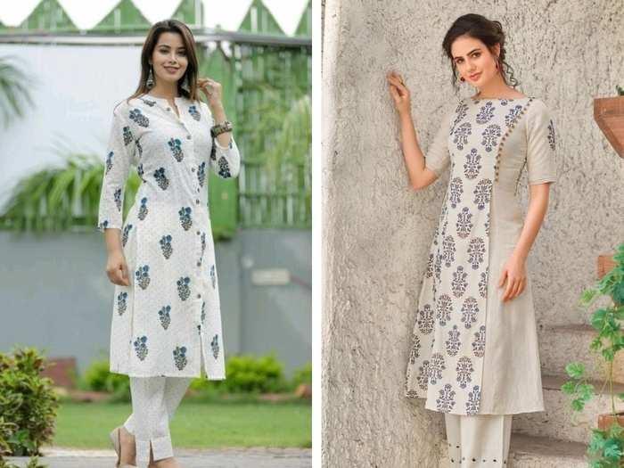 मात्र ₹1,349 में मिल रहे हैं ये शानदार डिजाइन वाले ये 6 Women's Straight Kurta