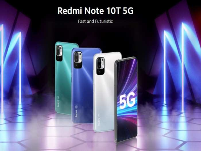 Top 5 Features Of Redmi Note 10T 5G
