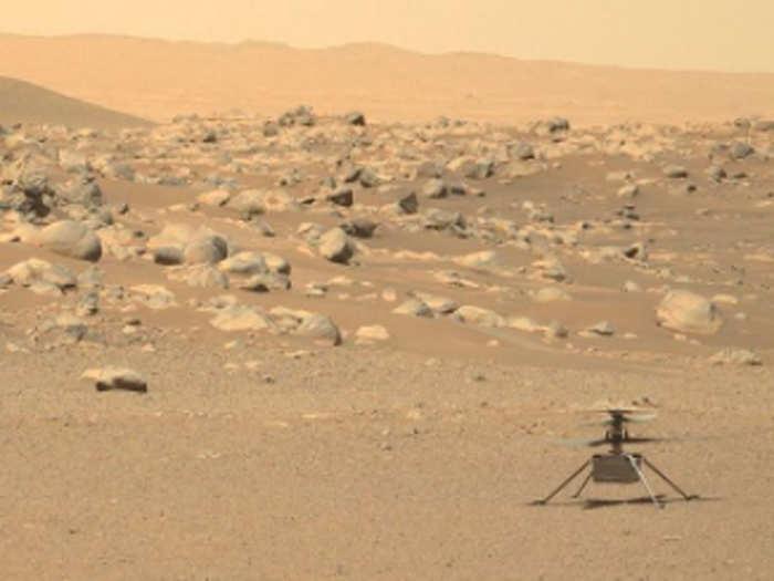 मंगल पर नासा का हेलिकॉप्टर