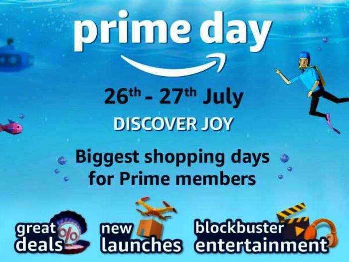 Prime Day Sale : कल से शुरू हो रही है प्राइम डे सेल, होगी मेगा ऑफर्स और डिस्काउंट की बारिश