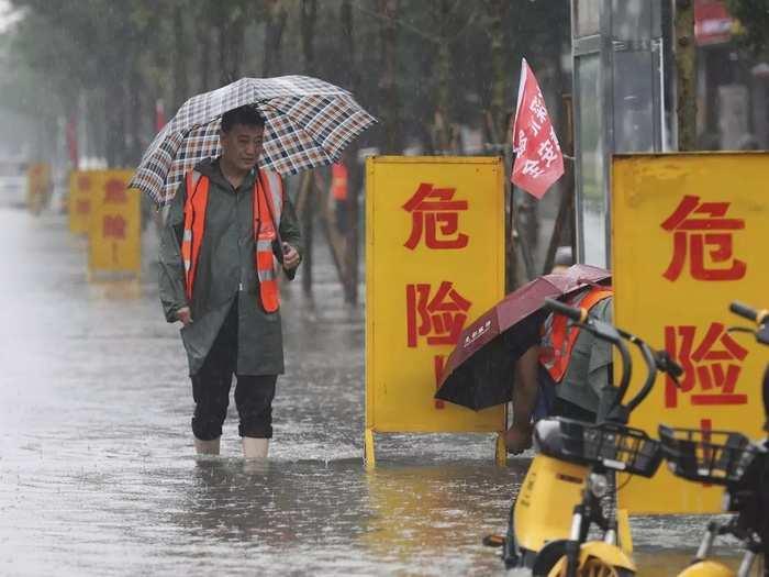 China Flooding.
