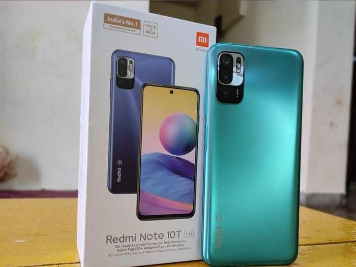 redmi note 10t 5G box 2