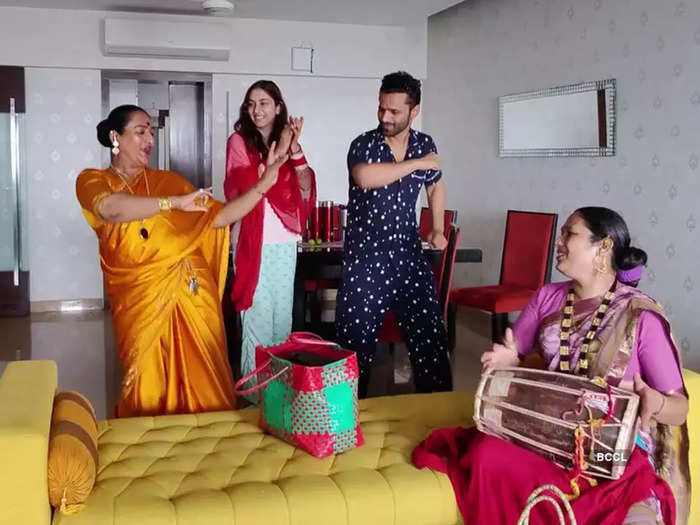 kinnar at rahul disha house