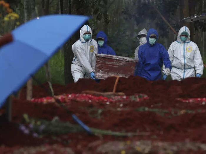 Coronavirus-Indonesia-Death