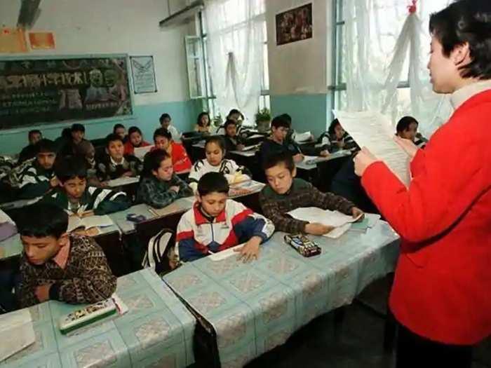 Uyghurs Muslim children