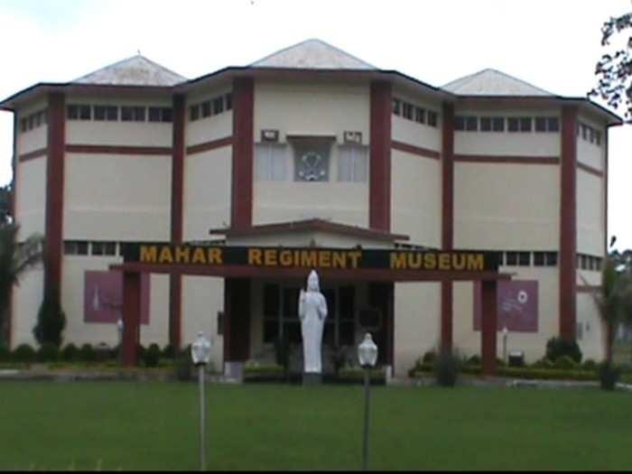 proof of pak defeat in kargil war lies at mrc museum sagar, 24 jawans of mahar regiment died in 1999 war