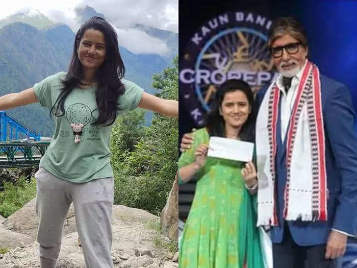 अमिताभ बच्चन के साथ दीपा शर्मा