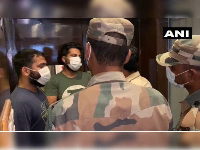 team of 23 members of Prashant Kishors I-PAC detained by East Agartala Police