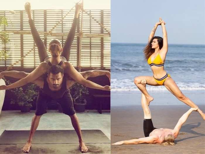 couples yoga poses to strengthen your relationship with your partner