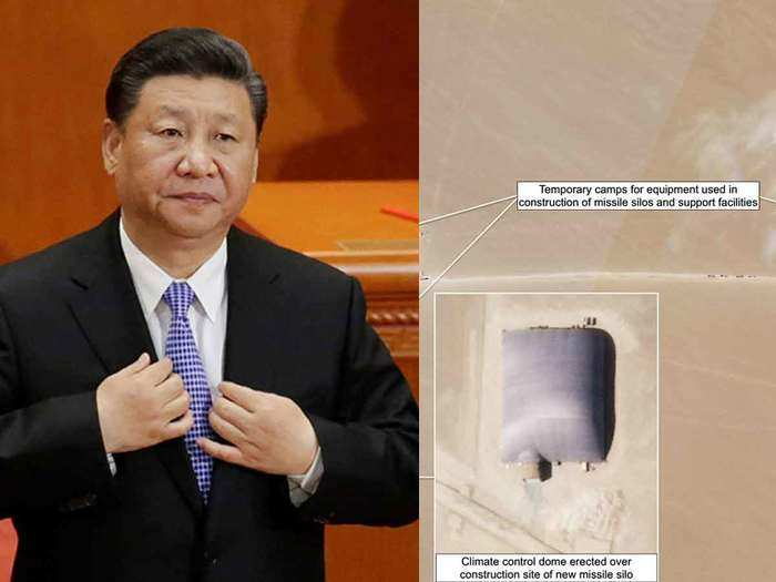 New Nuclear Missile Base for China