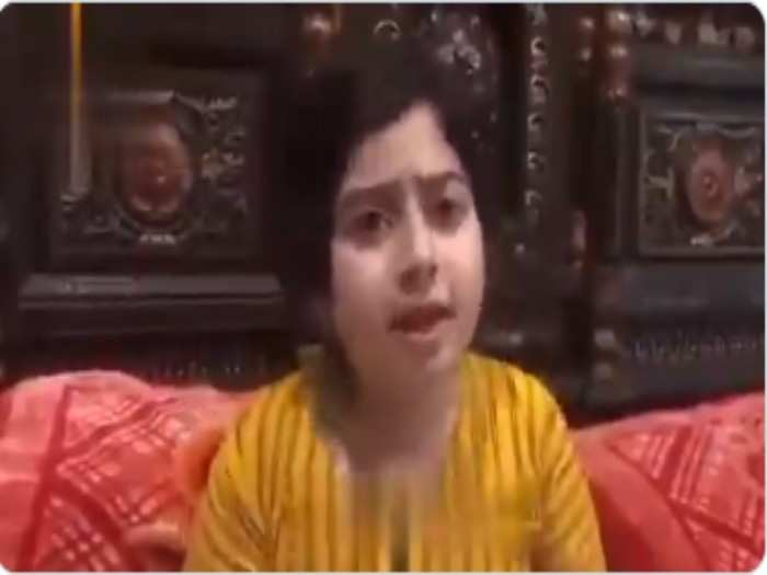 Pakistans little girl Fatimas new video