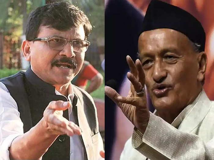 shiv sena leader mp sanjay raut criticizes governor bhagat singh koshyari