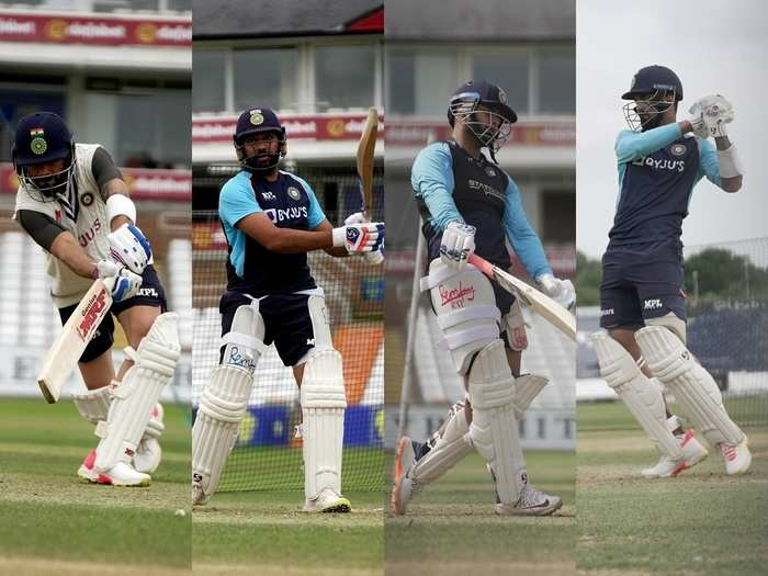 Indian cricket team in england
