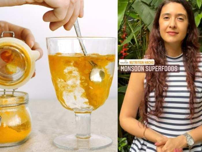nutritionist pooja makhija shares 3 monsoon immunity boosting superfoods to keep health issues at bay