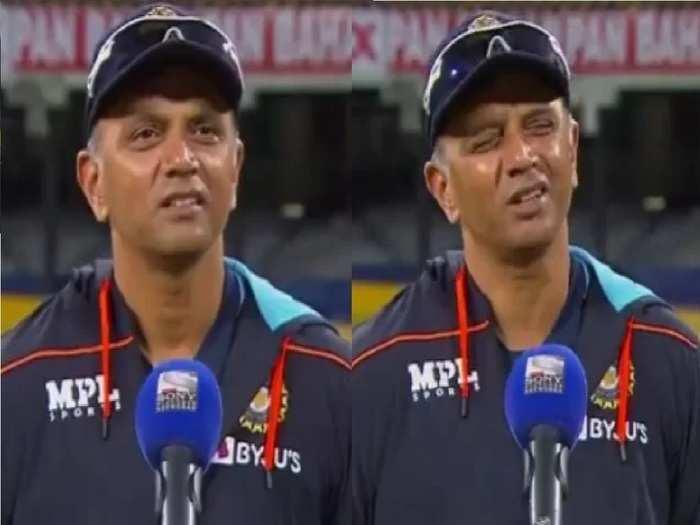 Rahul Dravid Team India Coach