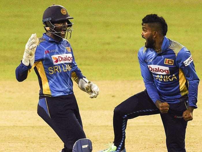 Wanindu Hasaranga Sri Lanka