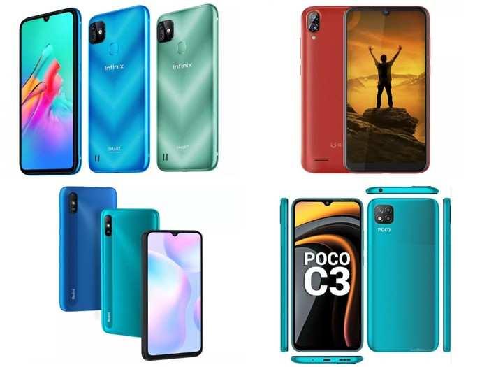 Smartphones under 8000 rupees