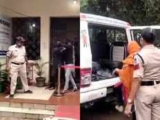 chhindwara news police busted prostitution racket and arrest five youths and three girls