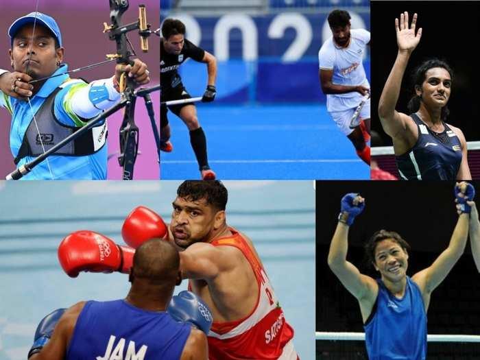 भारतीय एथलीट्स