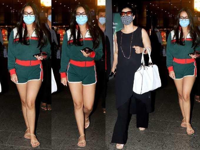 निक्कर पहन छुट्टियों से लौटी अजय देवगन की बेटी न्यासा ने मारी ऐसी एंट्री, मलाइका भी रह गईं पीछे