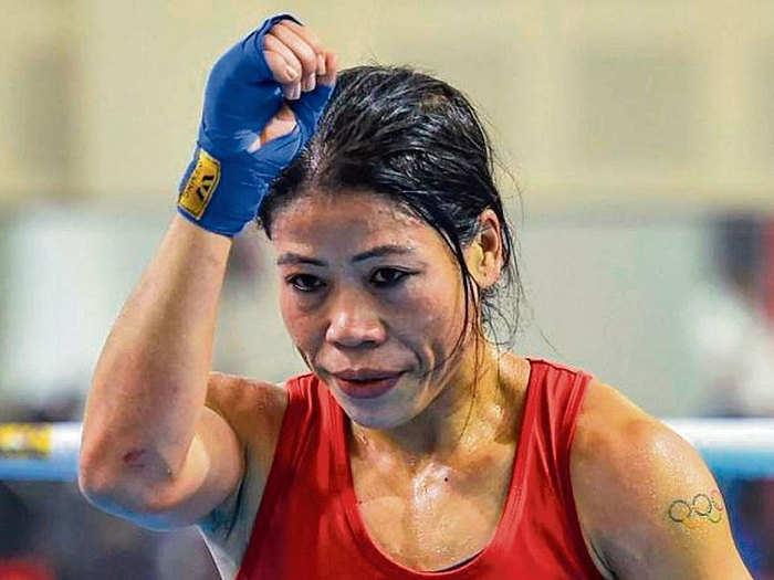 Mary Kom Knocked Out: एमसी मेरी कॉम को ओलिंपिक पदक का सपना टूटा, कोलंबियाई बॉक्सर से मिली हार
