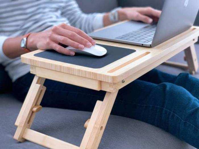 इन Laptop Tables से कंफर्टेबल होकर करें काम, बॉडी पॉश्चर रहेगा मेंटेन