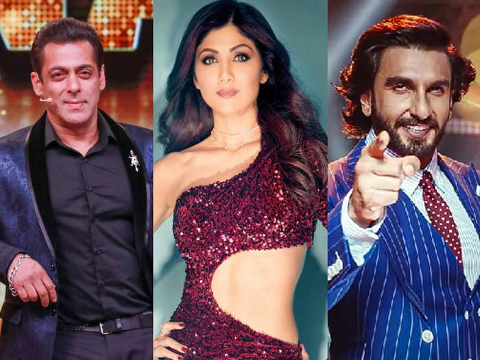 salman khan to ranveer singh and shilpa shetty bollywood and tv stars fees for reality shows