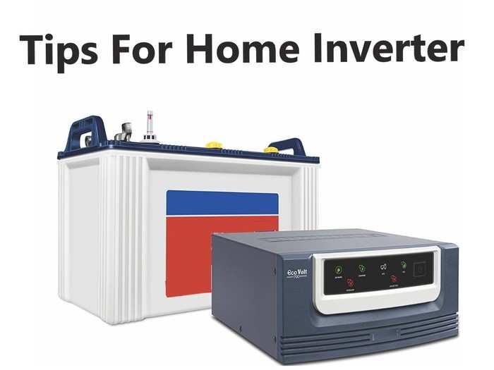 Tips For Home Inverter