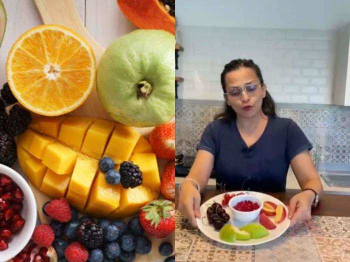 kareena kapoor dietitian rujuta diwekar has explained 3 important rules about eating fruits and also explained the proper method and time of eating fruits