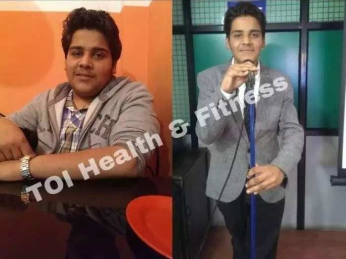 amazing weight loss story 97 kg overweight boy used to drink bitter gourd karela juice every day for fat loss