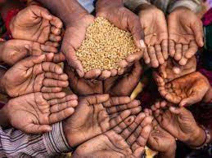 यमन, जिम्बाब्वे और कांगो जैसे देशों में 80 फीसदी से अधिक आबादी के पास खाने के लिए पर्याप्त नहीं है।