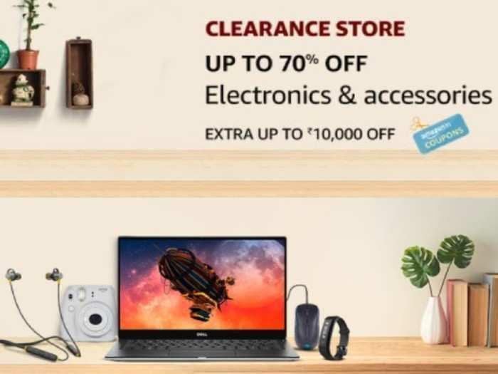 amazon clearance sale