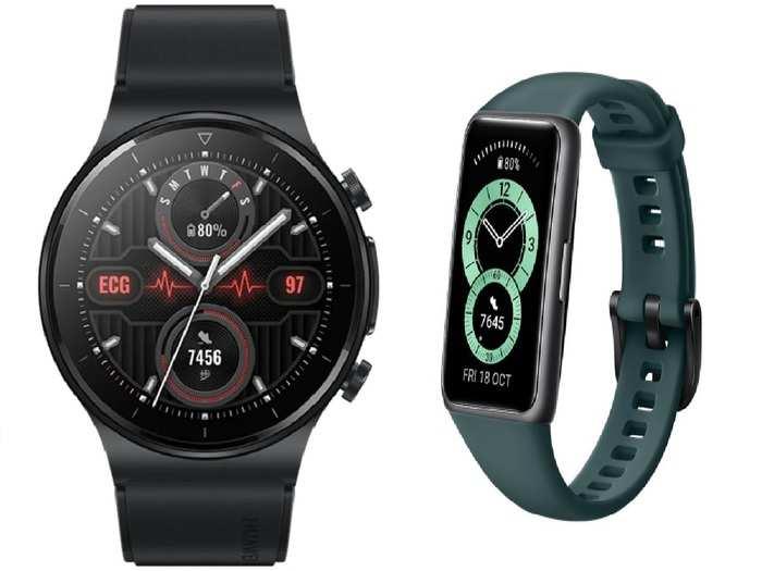 Huawei Watch GT 2 Pro ECG And Huawei Band 6 Pro Price